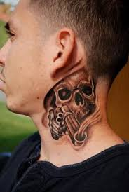 1000 ideas about on neck tattoos