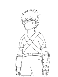 naruto shippuden coloring book drawing printable free coloring