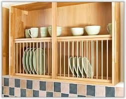 Under Cabinet Dish Rack A Frontal Accessories Guide For Oak Kitchens Solid Wood Kitchen