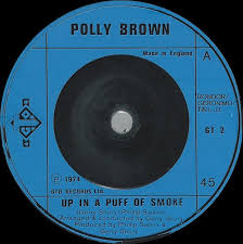 polly brown up in a puff of smoke vinyl at discogs