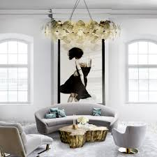 brilliant dining rooms with statement chandeliers