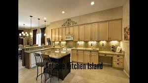 antique kitchen island unique small kitchen remodel themes youtube