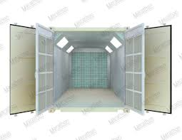 paint booths spray booths spray systems state shipping transportable mobile container spray paint booth marathon