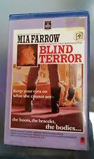 Blind Terror Slasher Vhs Tapes Ebay