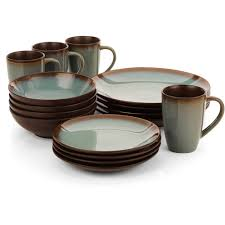 home trends lagoon 16 dinnerware s walmart