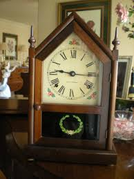 Mantel Clocks Antique Antique Seth Thomas Mahagony Mantel Clock Collectors Weekly