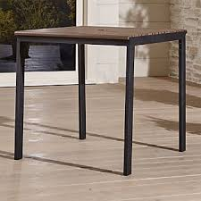 Crate And Barrel Dining Table Outdoor Patio Dining Furniture Crate And Barrel