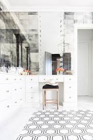 Mirror Bathroom Tiles Height Mirrored Wall Design Ideas