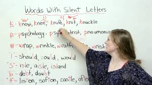 spelling u0026 pronunciation words with silent letters youtube