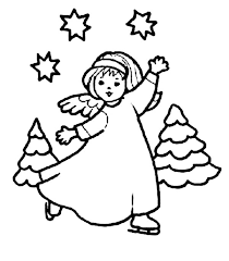 harp coloring page angels singing with harp colouring page happy colouring