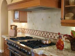 glass tile backsplash kitchen pictures backsplashes beige cabinets