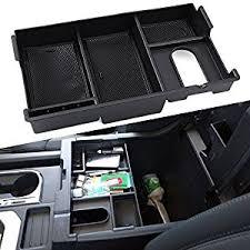 Toyota Tundra Interior Accessories Amazon Com Center Console Insert Organizer Tray Fit Toyota Tundra