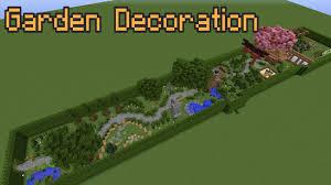 Minecraft Garden Ideas Minecraft Garden Decoration Ideas