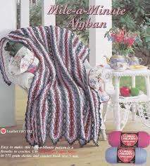 Noredirect by Mile A Min Afghan Crochet Pattern Crochet Kingdom