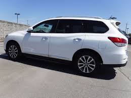 nissan pathfinder with rims 2014 used nissan pathfinder 4wd 4dr sl at landers chevrolet