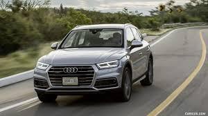 Audi Q5 Diesel - 2018 audi q5 3 0 tdi quattro color florett silver front three