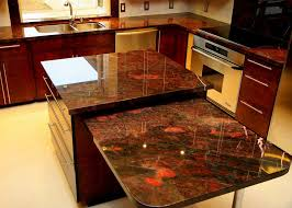 Different Types Of Kitchen Countertops by Granite Countertop Lowes Cabinet Hardware Pulls Wall Tiles