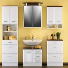 möbel für badezimmer bad möbel lissabon in hochglanz weiß pharao24 de