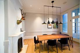 No Chandelier In Dining Room Deer Antler Chandelier Dining Room Contemporary With Light Wood