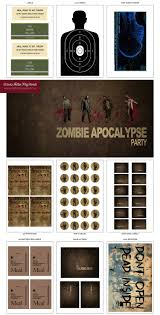 walking dead zombie halloween party u2014 hello my sweet