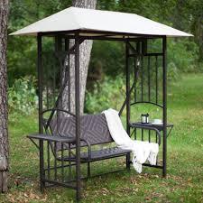 Porch Swing With Stand Amazon Com Coral Coast Bellora 2 Person Gazebo Swing Natural