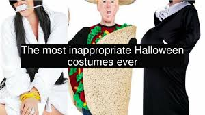 inappropriate halloween costumes the most inappropriate halloween costumes ever youtube