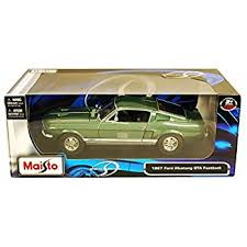 maisto ford mustang amazon com maisto 1 18 scale 1967 ford mustang gta fastback
