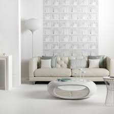 white modern living room in this living room white furniture in futuristic shapes work