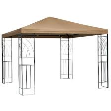 Replacement Awnings For Gazebos Replacement Gazebo Canopy 10x10 Target