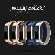 bracelet magnetic wrist images Smart accessories for original fitbit alta hr metal wrist strap jpg