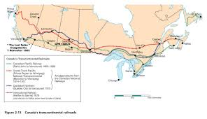 Canadian Pacific Railway Map Ca Ph Knox Geography 1 Student Resources The Changing Global