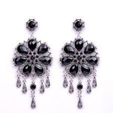 Chandelier Earrings Earrings Black Crystal Earrings Earrings Ebay