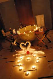 make bedroom romantic special night pictures candles and rose