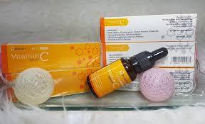 Serum Vitamin C Wajah wajah anda kusam new serum vitamin c hanasui solusinya