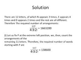 permutation u0026 combination