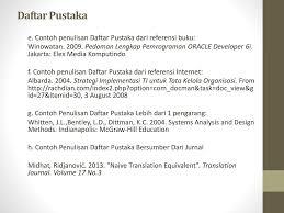 panduan penulisan daftar pustaka dari jurnal pedoman penyusunan skripsi stmik amikom purwokerto ppt download