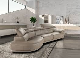 Nicoletti Italian Leather Sofa Marisol Sectional Sofa By Nicoletti In Taupe By J U0026m Sectional