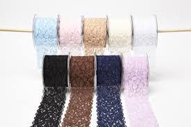 lace ribbon wholesale 2 5 inch elastic lace ribbon may arts wholesale ribbon