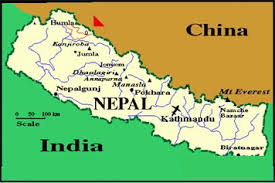 map of nepal and india nepal map political nepal map geographical map of nepal