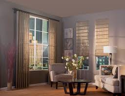 natural woven shades blend the look of vertical blinds u0026 drapes