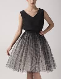 spodnica tiulowa spódnica tiulowa w kropki fanfaronada showroom