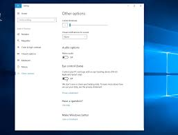 how to use windows 10 u0027s eye control feature right now mspoweruser