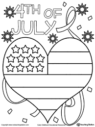 us flag coloring pages 4th of july heart flag coloring page worksheets flags and free