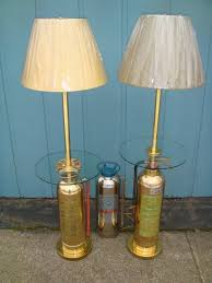 Teal Floor Lamps Floor Lamps Made From Brass Fire Extinguishers Glass Tray