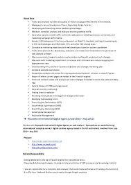 Analyst Resume Example Sample Seo Resume 2 Kamaldeep Singh Seo Seo Smo Resume Sample