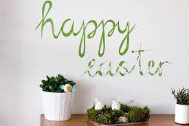 happy easter decorations happy easter paper wall decor look what i made look what i