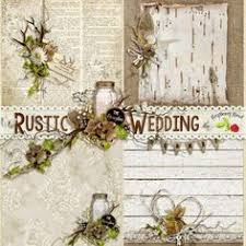 rustic wedding scrapbook a beautiful set of 14 rustic themed papers designed to coordinate