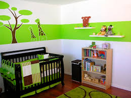 Green Nursery Decor Green To The Calm Nursery New Home Scenery