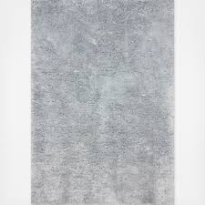 Light Gray Area Rug Hand Tufted Magnifique Shag Rug Zola