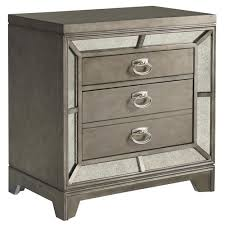 avalon furniture lenox 2 drawer nightstand with built in usb